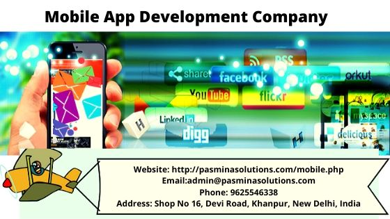 Mobile App Development Company Website:  http://pasminasolutions.com/mobile.php  Email: admin@pasminasolutions.com Phone: 9625546338 Address : Shop No 16, Devi Road, Khanpur, New Delhi, Indiapic.twitter.com/cu17vIMT5h