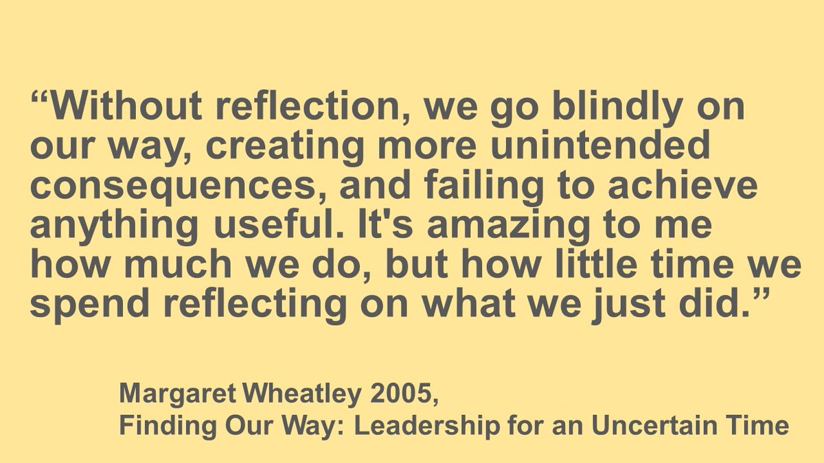 Reflection saves us from repeating our mistakes. It supports professional development & helps us to shape lives that are meaningful. Through reflection we can recognise areas needing improvement, as well as decisions & actions well taken. #ReflectionFTD @theRCVS @vetmindmatterspic.twitter.com/6tGMaCsyNd