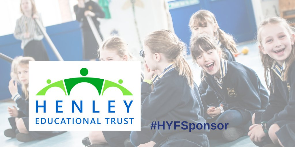 """Sharing some more sponsorship love!   Henley Educational trust are sponsoring #HYF2020  """"HET continues to provide a history of equal opportunities in physical, intellectual, emotion & social education by funding local individuals under 25yrs since 1604."""" #hyfsponsor #henleypic.twitter.com/owrKXs3nA4"""