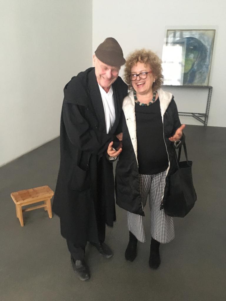 #AnselmKiefer al #castellodirivoli con @CCB_Castello nella Sala appena riallestita con le opere di #MarisaMerz #collection #turin #piedmont