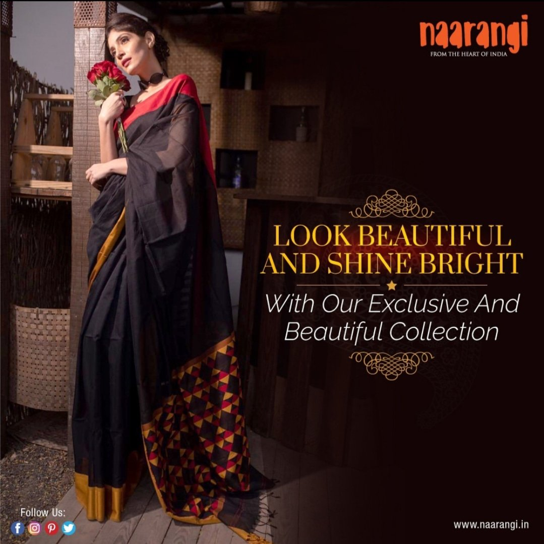 Exclusive & beautiful collection by Naarangi Crafts !Shop now at http://www.naarangi.in#NaarangiCrafts #Saree #sareelove #traditionalwear #ethnic #ethnicwear #sareeshopping #onlinesareeshopping #onlineshopping #WeavesofIndia #drapes #collection #style #beauty #fashion