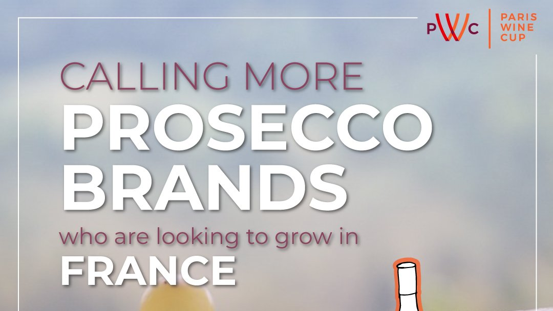 """I read somewhere """"#Prosecco is for life & not just for Christmas,"""" and I'm sure all #Proseccolovers would agree to that!  If you own a #Proseccobrand, this is the opportunity for you to grow your distribution in #France. Register your wine, go to   #wine"""