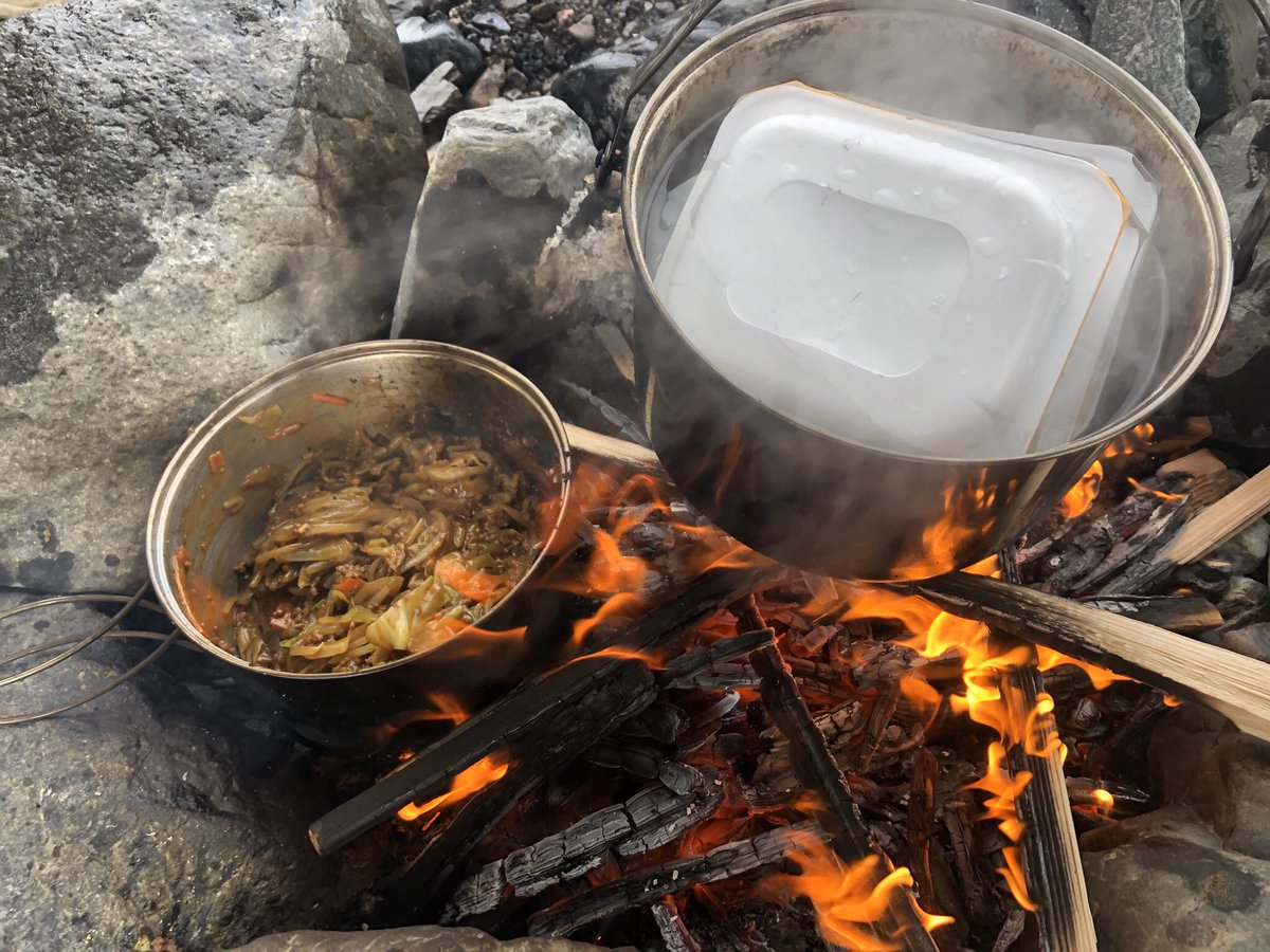 Easy operationからのChill丼  #easyoperation #chill #Chill丼 #DJキャブヘイ #camp #camping #アウトドア #outdoor #キャンプ #料理 #キャンプ飯 #旅 #旅人 #cabhey