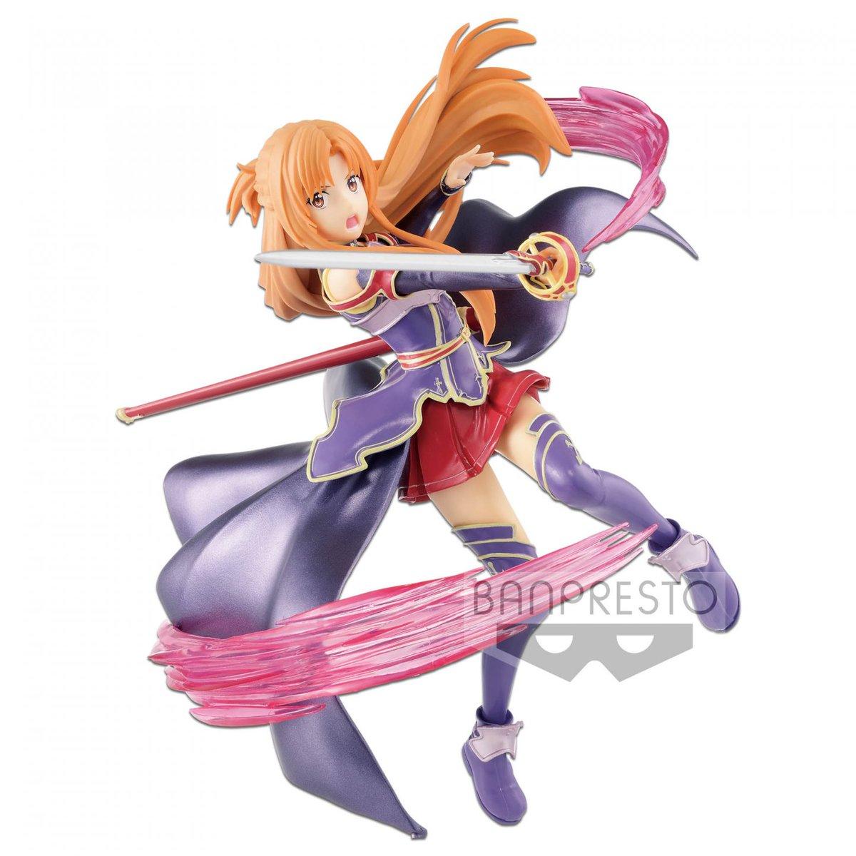 Sword Art Online Banpresto - Asuna Espresto EST Extra Motions Figure SAO