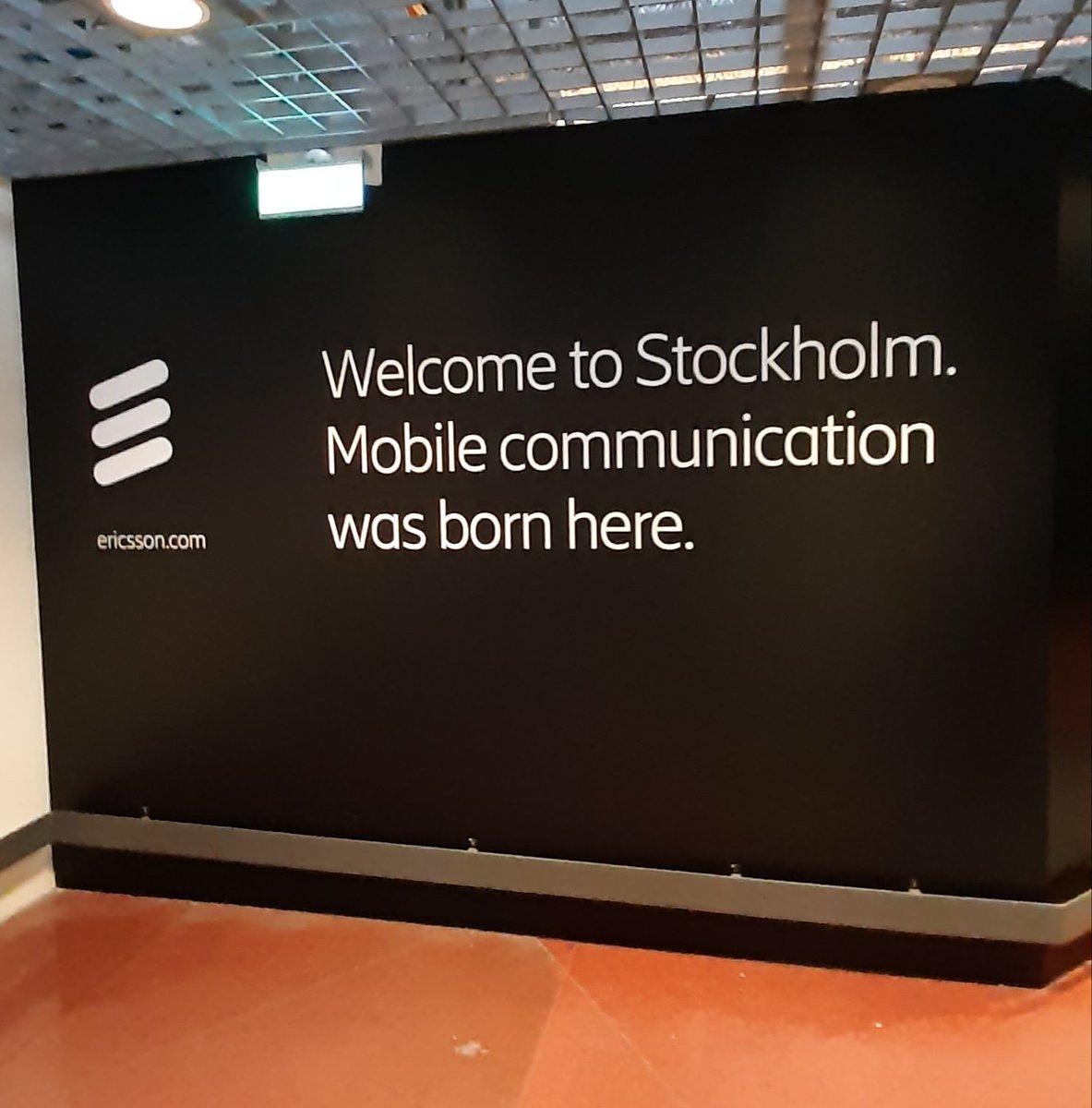 Welcome to @Stockholmsstad  Mobile communication was born here by @ericsson. #Ericssonawesome #EricssonAmbassador #QuestForEasy  #TeamEricsson @swedense @Arlanda #cloud #5G #IoT #AIpic.twitter.com/VvqAW4uoFf