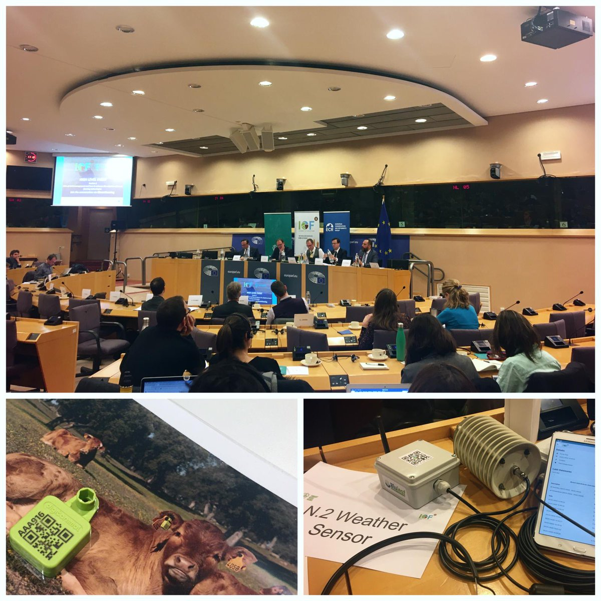 """Today #TRANSFARM team participated """"#SmartFarming: #digitalization of #agriculture & vision for the new #CAP"""" high-level conference at #EUParliament, where many important insights on #PF were offered. We could, also, see ourselves some of the actual #technologic #tools in use!pic.twitter.com/kU5E1CYzC1"""