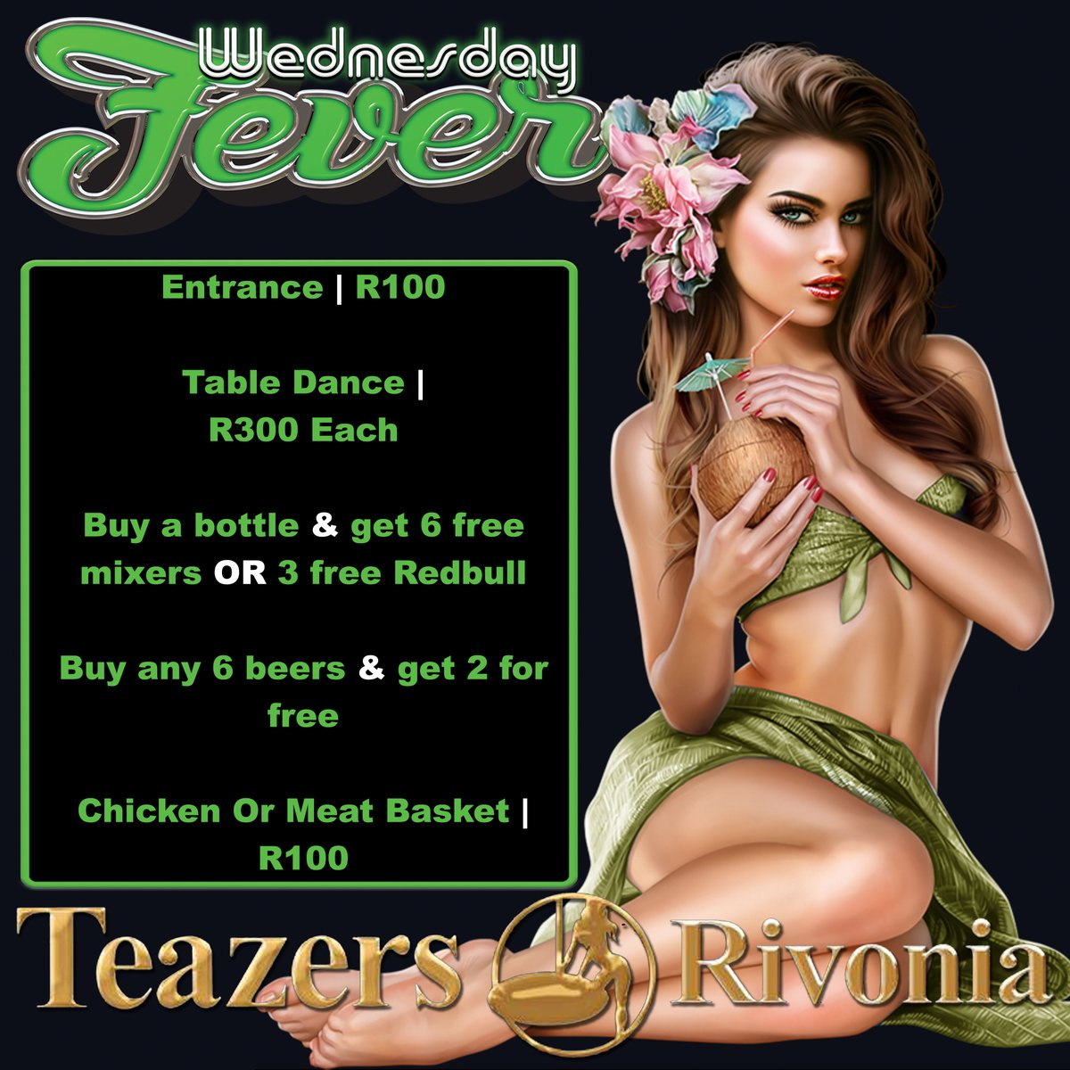#fitness #girlswithmuscle #fitbabe #splash #entertainers #exoticdancer #polefit #dancelife #instafit #excotic  #SPECIALS   TEAZERS RIVONIA - 084TEAZERS CALL NOW TO BOOK ! http://www.teazerssa.com   OPENS @ 20:00PM   #TeazersBoksburg #TeazersRivonia #Teazersnationwidepic.twitter.com/WecW5QMrG9