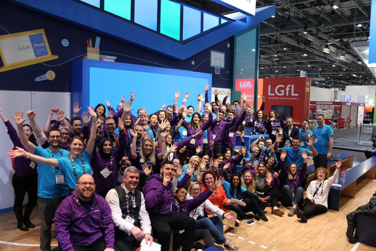 Was the start of #Bett2020 really a week ago! Missing this crowd of amazing educators! #MicrosoftEDU @microsofteduk