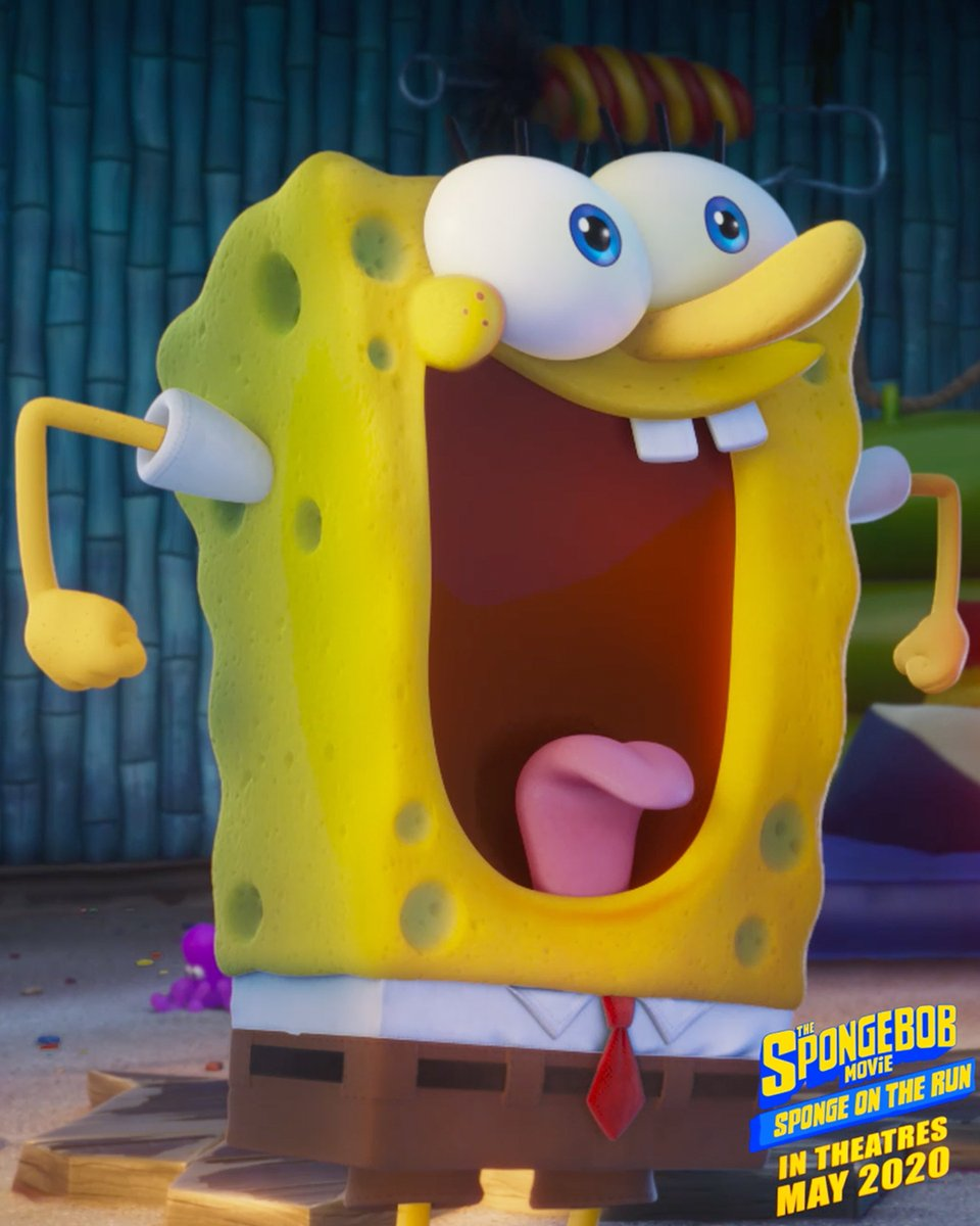 Honestly... @SnoopDogg and @SpongeBob are the duo we didn't know we NEEDED in the #SpongeBobMovie! 👏