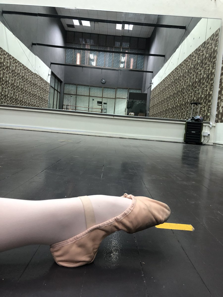 I have lots of work on. #adultballet @BTS_twt #BTS #방탄소년단   Tagging BTS because, you know, one more week to be the most tweeted- about artist for the most number of weeks?pic.twitter.com/oCfn0Yfi43