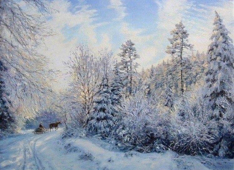 колючий, вкусными картинка художников о зиме с авторами ибисов длинная