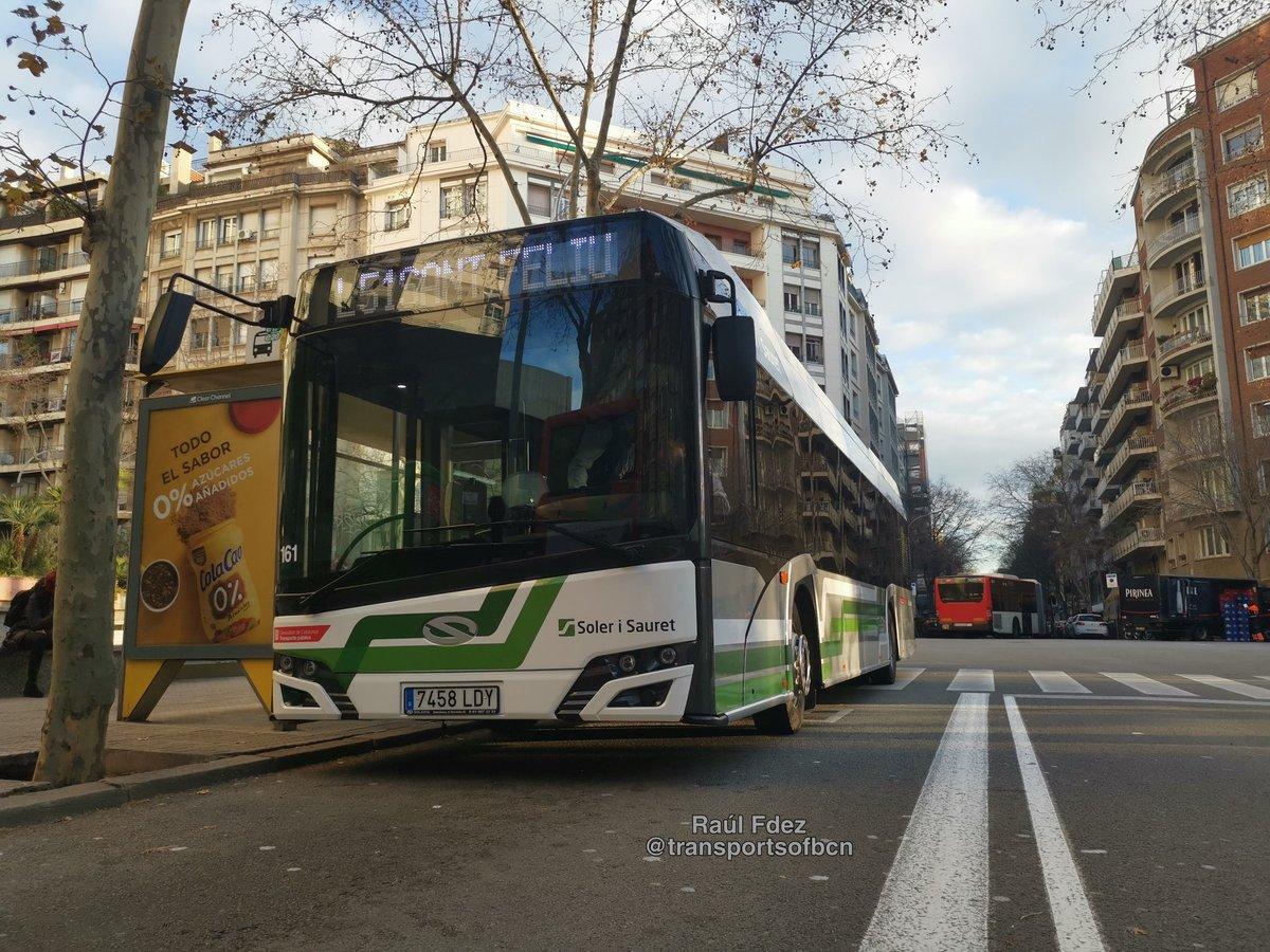 Soler i Sauret estrena el Solaris Urbino IV de 12 metros. Fantástico en todas las facetas @solerisauret @SOLARISBUSCOACHpic.twitter.com/CJUp4sjRRf
