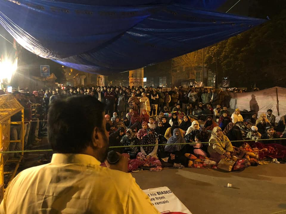 Gujarat Congress MLAs join controversial Shahin Bagh protest in Delhi; State BJP slams Congress in strong words