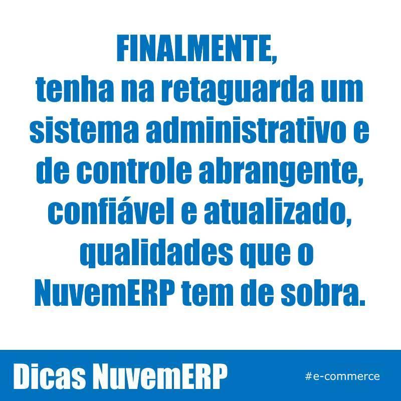 #ErpEmNuvem #NuvemErp #GestaoEmpresarial #PME #InformatizeSuaEmpresa #VendaNaInternet #DicasErp #DicasComercioEletronico #GestaoDeNegocios #EmissaoDeNfe #ControleSuaEmpresa #SistemaParaPequenasEmpresaspic.twitter.com/Pfp19eXBfz