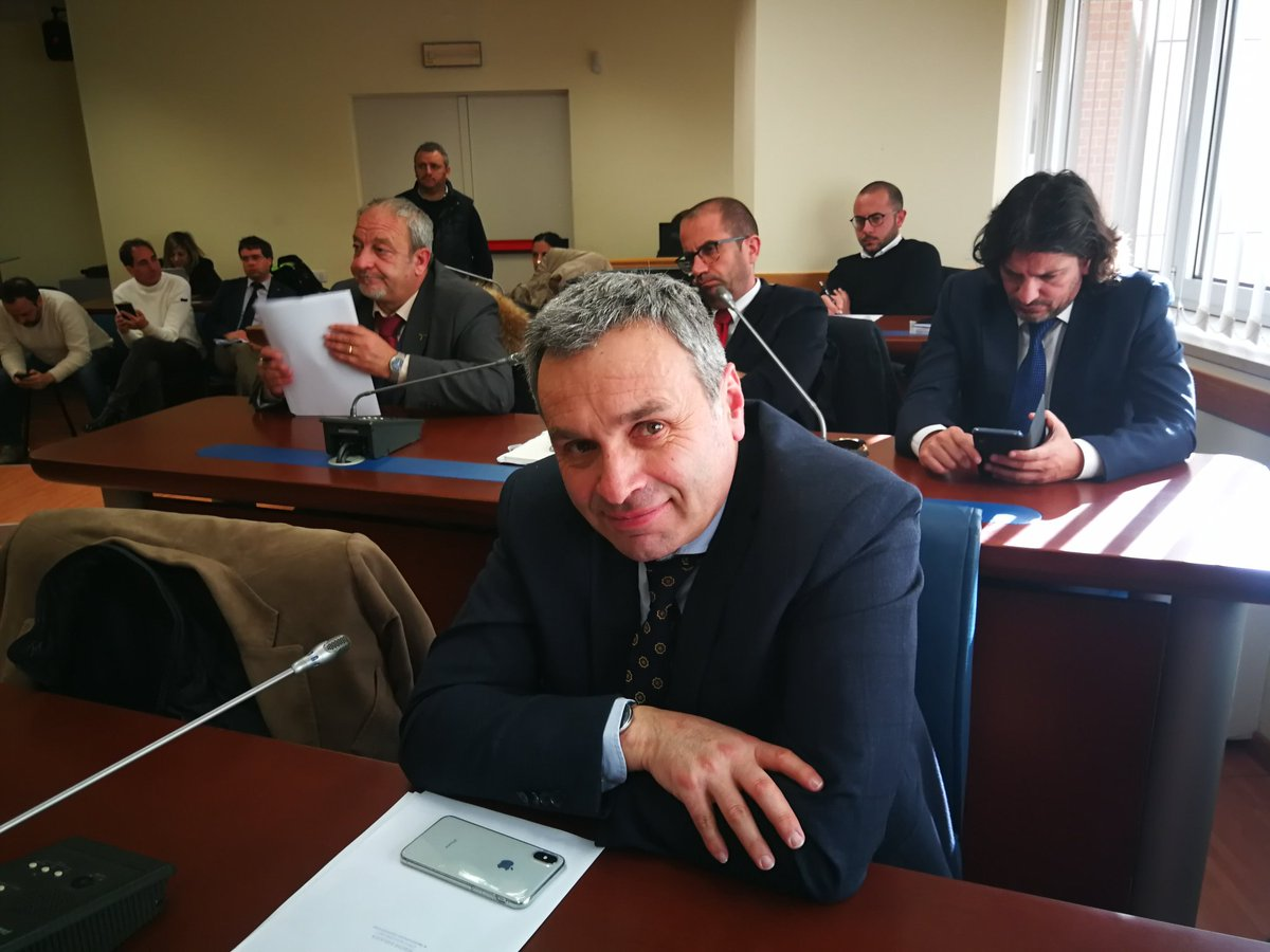 In prima Commissione, audizione di Franco Galluzzi...