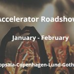 Image for the Tweet beginning: Subject: 🚀 INVITATION: Accelerator Roadshow