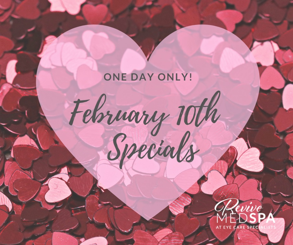One Day ONLY Specials! Call (570) 664-7171 to secure 2/10/20 savings!  Spaces limited.  * BOTOX $11/unit * $50 OFF 1 Syringe Filler * $125 OFF 2 Syringes Fillers + BOTOX $10/unit * $225 OFF 3 Syringes Fillers + BOTOX $9/unit + FREE Facial of the Month  *must prepay 2/10/20 pic.twitter.com/4IjaWknqeb