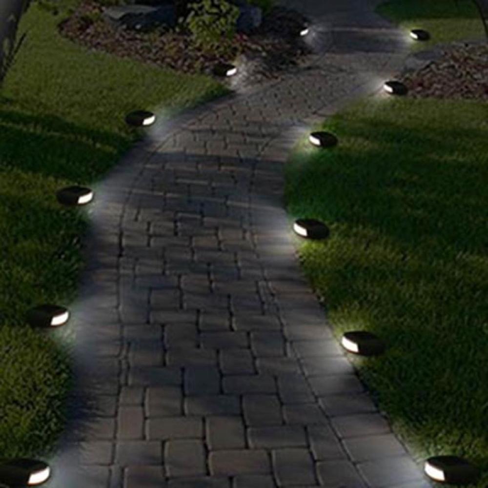 #decoration #lights Waterproof Solar Stone Shaped Lawn Lamp