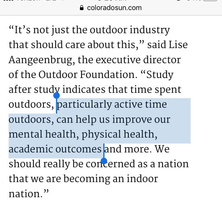 Thanks, @LakeMetroparks, for the DM and sharing this interesting article about @outdoorfnd's research  I learned about the #Outdoor #Foundation research from @ShanelleLSmith of @tpl_org #Cleveland's office👉    @tpl_org does good work to get people outdoors