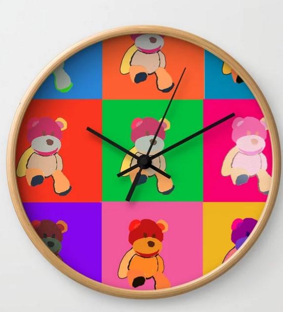 20% off wall clocks  today  at My Society6 Shop! @society6   #art #digitalart #drawing  #illustration #zodiac #wallclock #interior  #society6 #popart t #homedecor  #artprints #posters #framedartprints #lips #bear #golden #stylish
