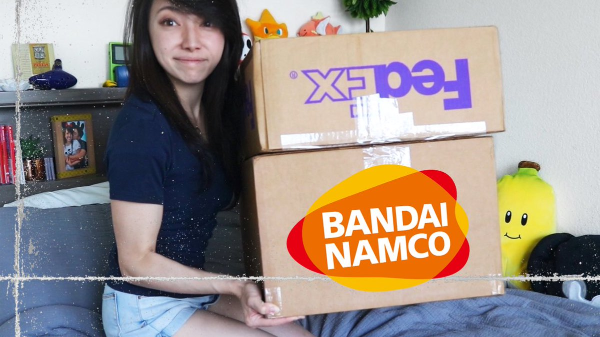 1st Vid of 2020 + Giant @BandaiNamcoUS unboxing youtu.be/wHP7j6K6ZoY