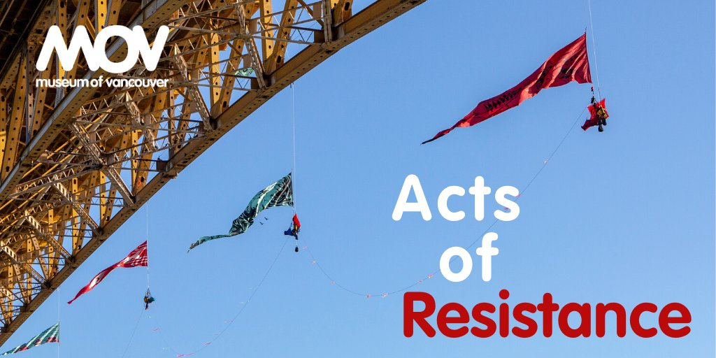 MOV's newest feature exhibition, Acts of Resistance, opens in one week - on February 5, 2020!    @GreenpeaceCA   http://museumofvancouver.ca/acts-of-resistance…  Acts of Resistance opens on February 5, 2020 #AtMOV  #ResistanceatMOV #IndigenousActivism #IndigenousArtpic.twitter.com/Pbu8MEX7T4