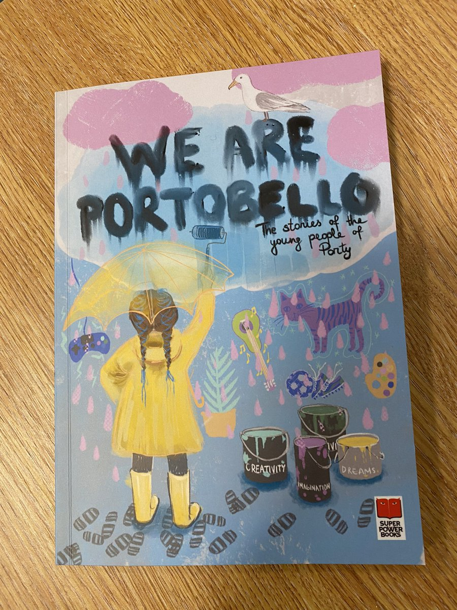 You can get your very own copy of our young people's work at various locations, including our very own, very local @PortobelloBooks 📚🌟👍🏻 #shoplocal #readlocal