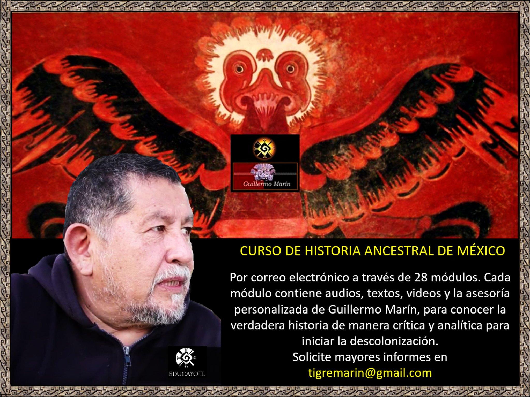 CURSO PERSONALIZADO DE TOLTECÁYOTL POR INTERNET