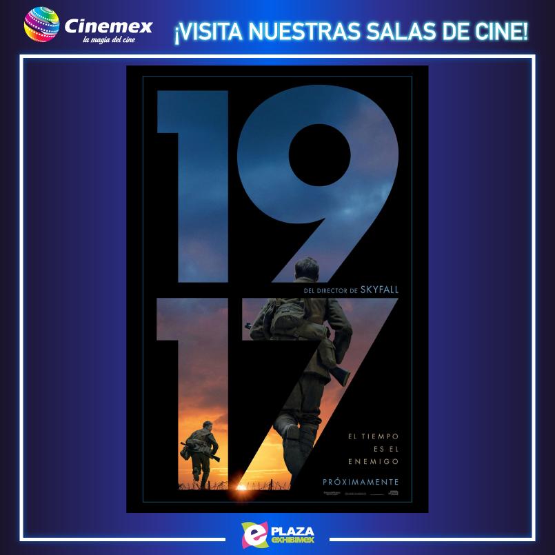 ¡Ven a disfrutar #1917 en nuestras salas de cine en Cinemex aquí en @PlazaExhibimex! #RichardMadden #BenedictCumberbatch #MarkStrong #ColinFirth https://youtu.be/Aay0OECJOTYpic.twitter.com/7zdmNkuclB