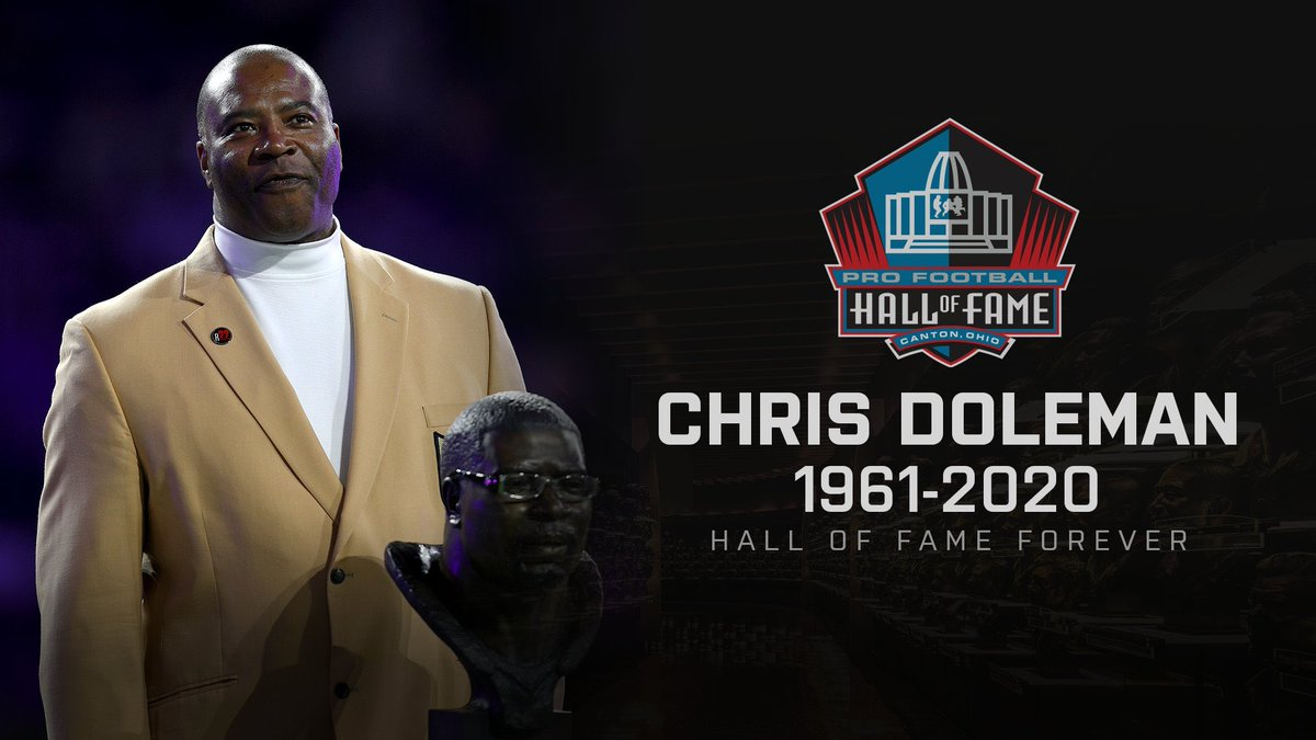RIP Chris Doleman you will be missed! @Vikings @NFL @ProFootballHOF