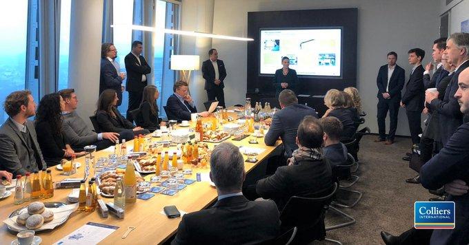 Bei unseren Industrie und Logistik Frühstück-Events in Frankfurt und Hamburg haben wir tiefe Einblicke in den Industrie- und Logistiksektor gegeben. Anschließend haben wir mit unseren Gästen die Entwicklungen des Marktes diskutiert. Wir bedanken uns für den spannenden Austausch! t.co/iCOEKFalM7