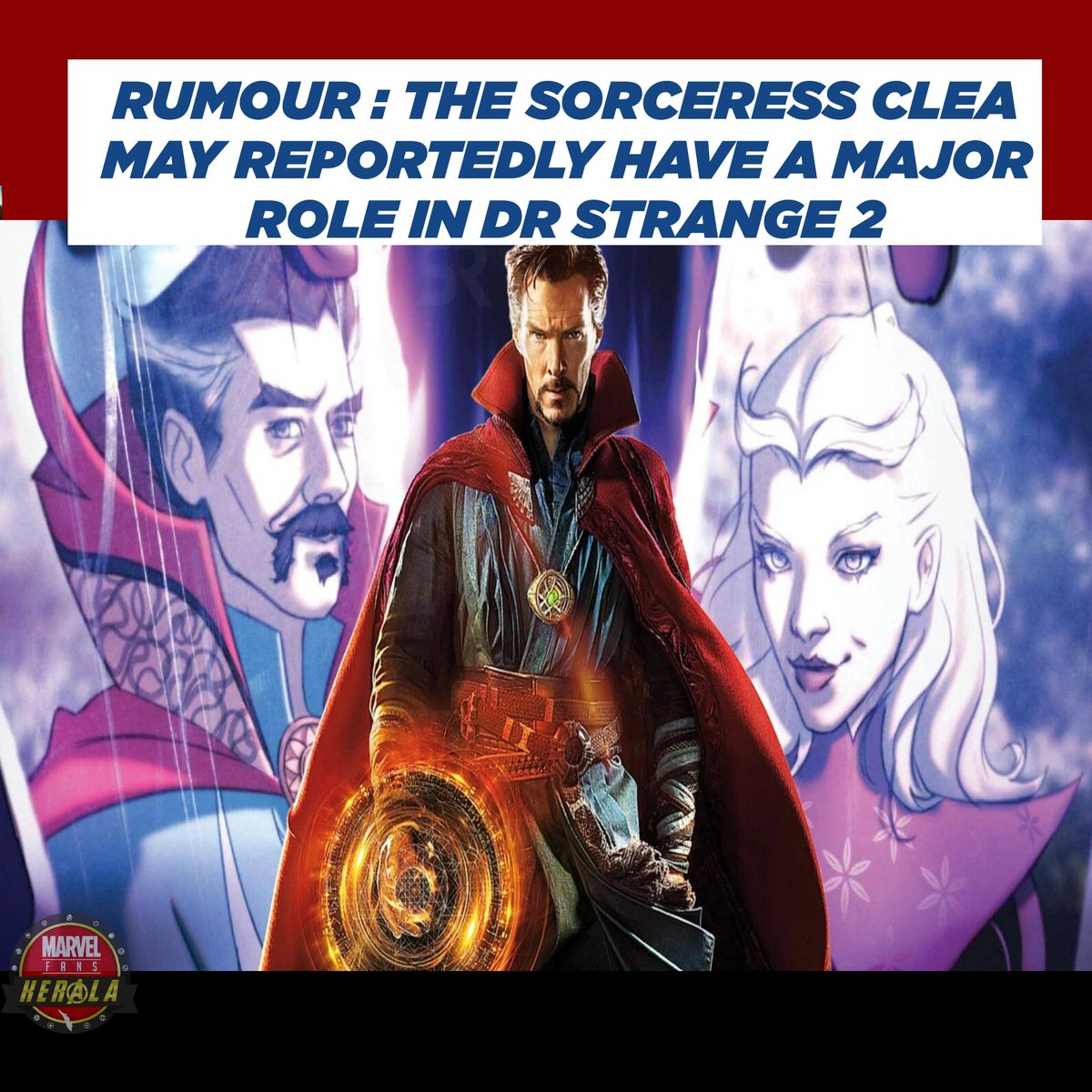 Dr Strange in the Multiverse of Madness reportedly casting fellow sorcerer Clea #MarvelFansKerala #DrStrangeInTheMultiverseOfMadness #clea #drstrange @Kevfeige #BenedictCumberbatch pic.twitter.com/okxfLFTMd7
