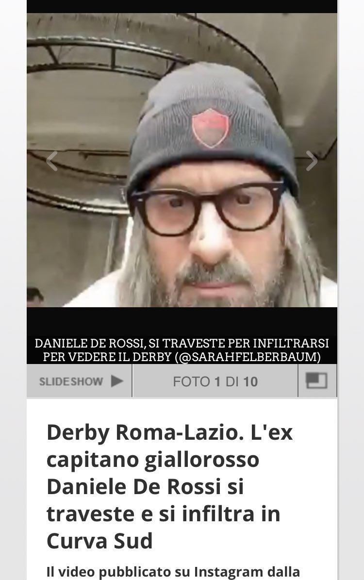 #DeRossi