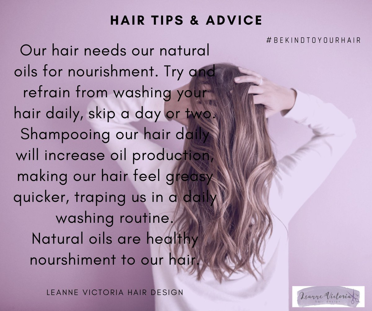 Please welcome the return of my hair tips & advice  Feel free to get involved and comment below if there's any hair advice you'd like?.. #chesterhairdresser #hairtips #hairadvice #chesterpic.twitter.com/I06H4RVdSl