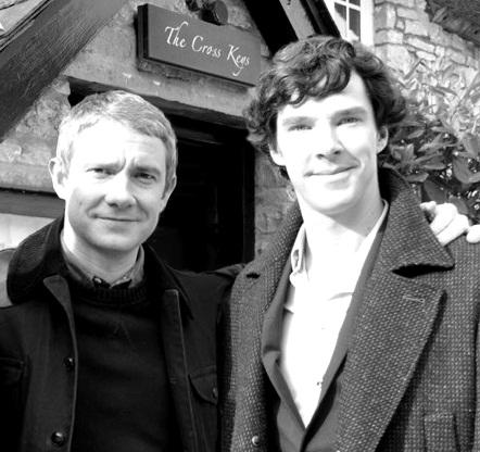 #JohnAndSherlock @CumberbatchSpam #BenedictCumberbatch #MartinFreemanpic.twitter.com/EJvmsKDILV