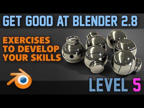 Beginner Exercises | Part 5 | Hard Surface Modelling 1 | Blender 2.8 #ArtistOnTwitter #blender3d #3dart #b3d #tutorial 💻
