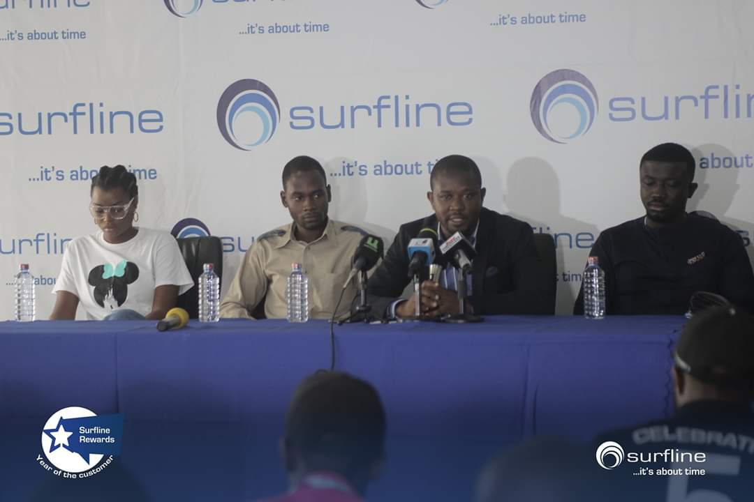 Today, we have launched our comprehensive lifestyle loyalty program for our cherished customers and have declared this year (2020) as the Year of the Customer.  #Surfline #AlwaysOn #YearOftheCustomer #SurflineRewards  #4GLTE #Internet #Ghana #Accra #Tema #Kasoa #ItsAboutTimepic.twitter.com/Dnptd0dGa5