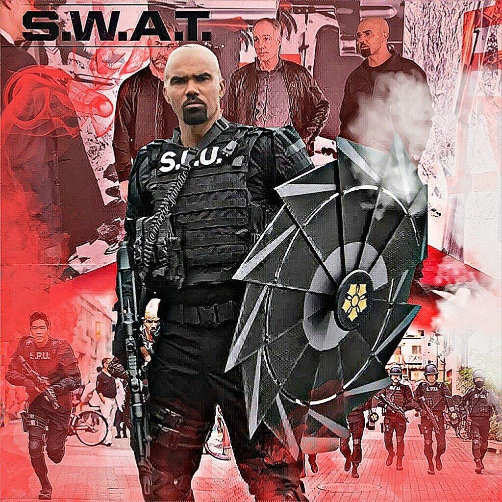 Good morning  Happy #swatwednesdays to all  Is Today! #swatjp  TUNE IN TONIGHT 10/9c on CBS . . @shemarmoore @davidbradleylim  @patrickstesprit @jayharrington3 @swatcbs @SWATWritersRoom  #swat #shemarmoorepic.twitter.com/TfPAdQcFqm