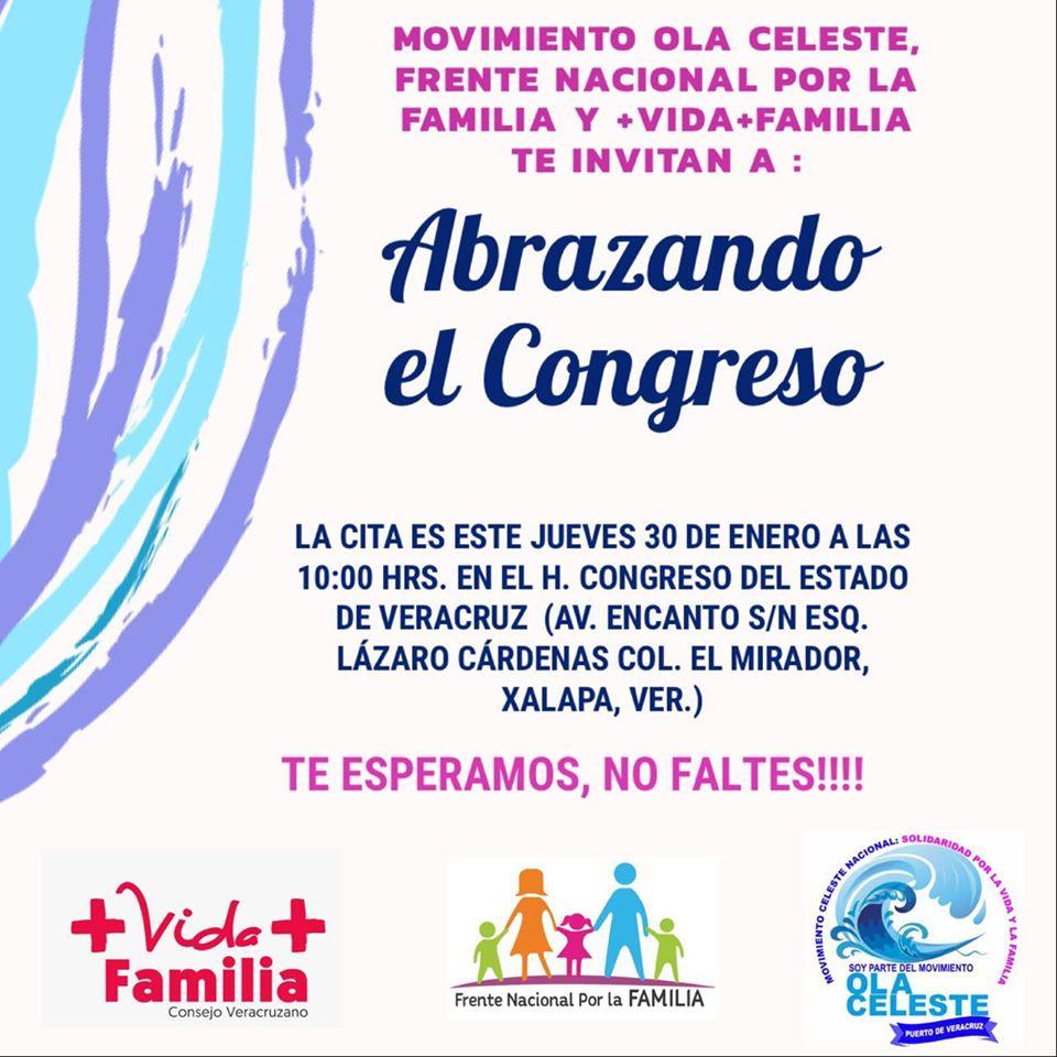 Frente por la Familia toma Congreso