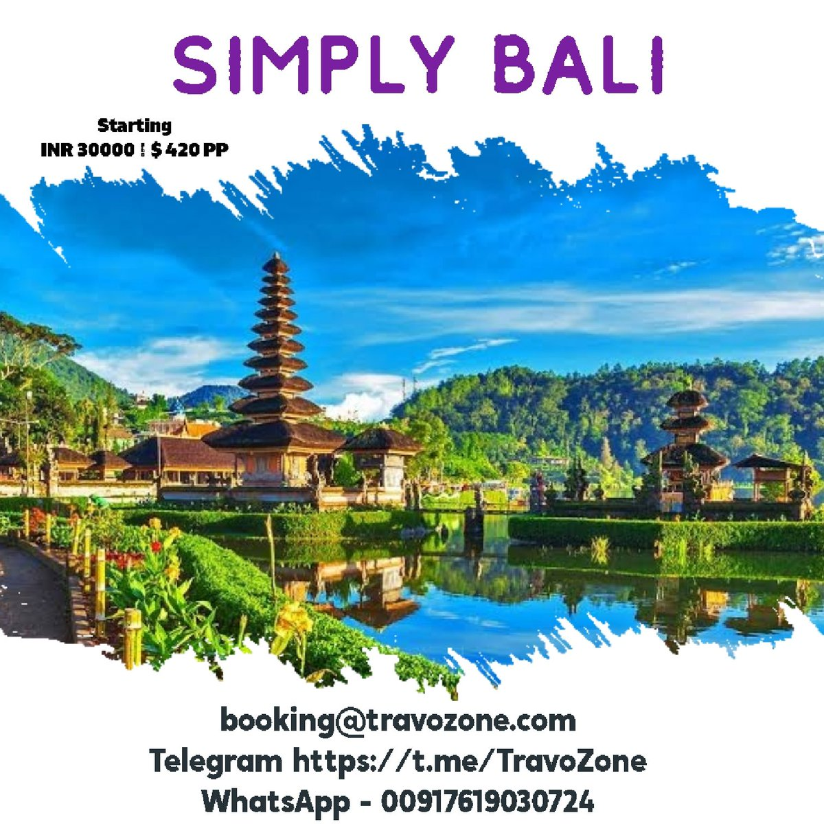 #bali #indonesia Holiday from #TravoZone to book mail us at booking@travozone.com  #travel #traveling #TagsForLikes #TFLers #vacation #visiting #instatravel #instago #instagood #trip #holiday #photooftheday #fun #travelling #tourism #tourist #instapassport #instatraveling
