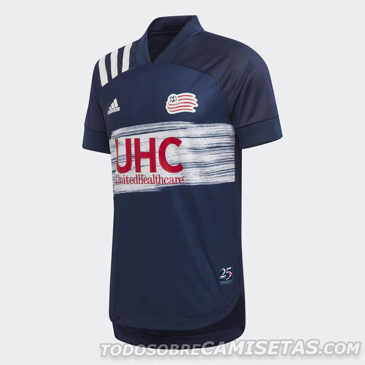 New England Revolution 2020 adidas Home Kit