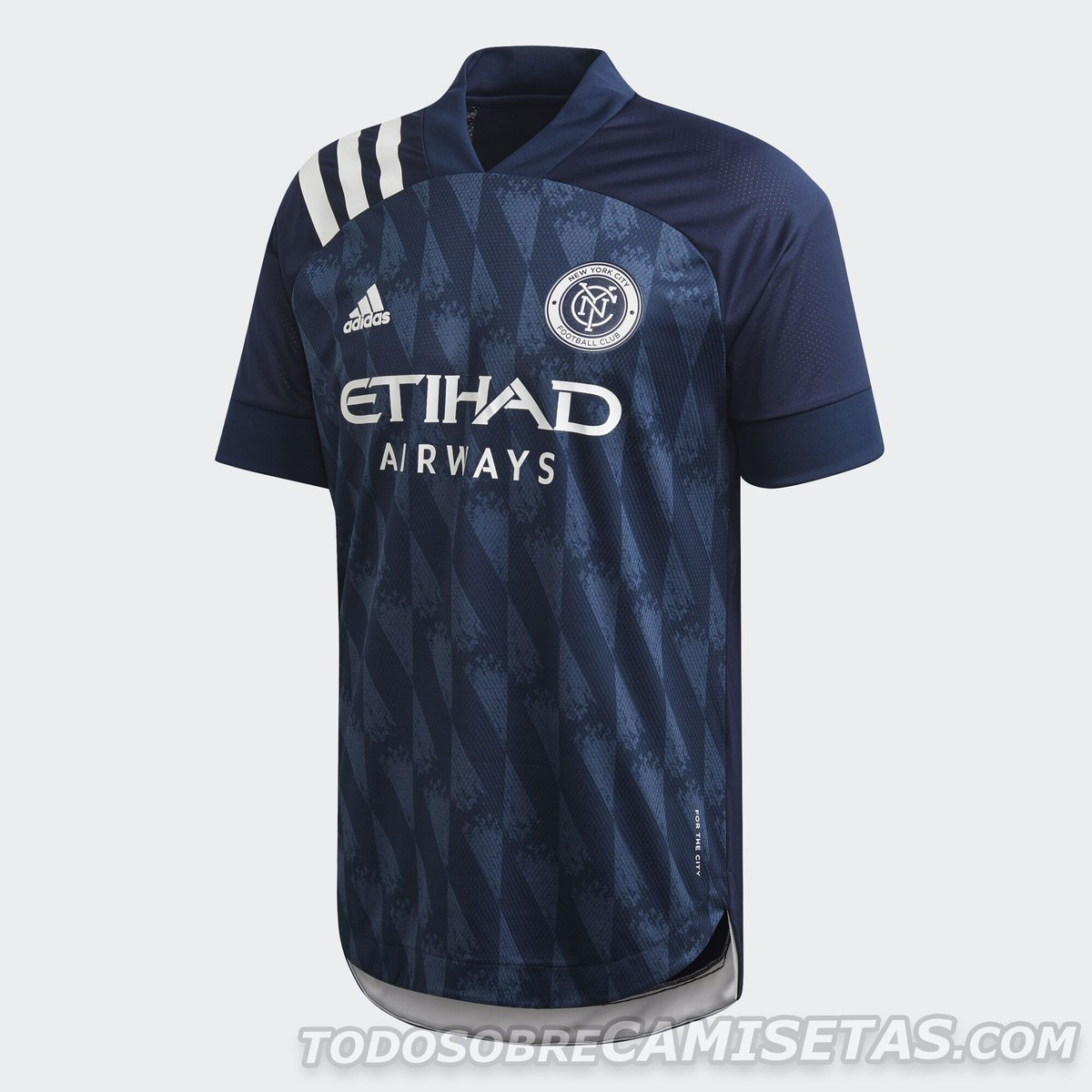 New York City FC 2020 adidas away Kit