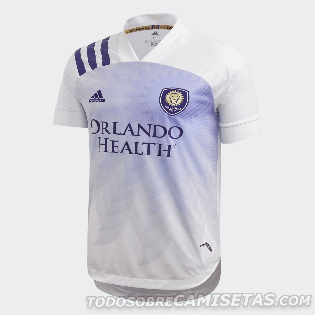 Orlando City 2020 adidas away Kit