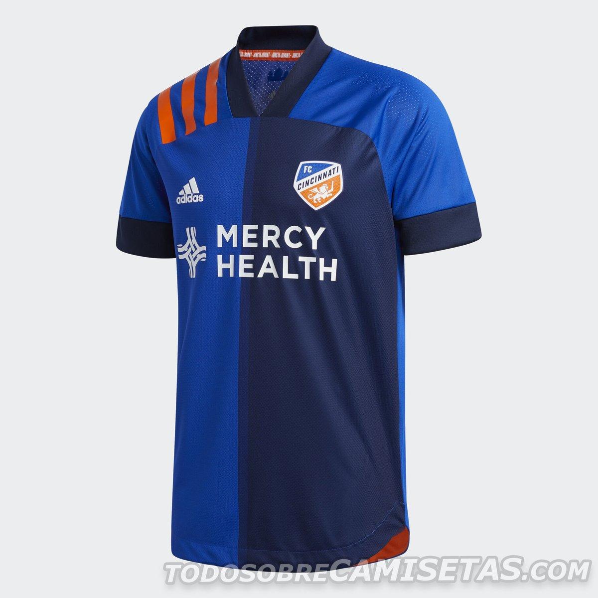 FC Cincinnati 2020 adidas Kits