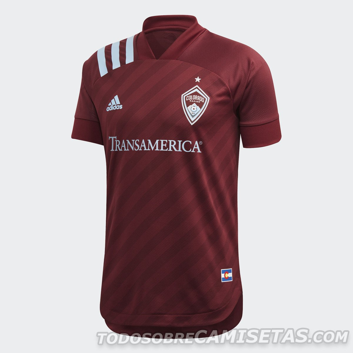 Colorado Rapids 2020 adidas Home Kit
