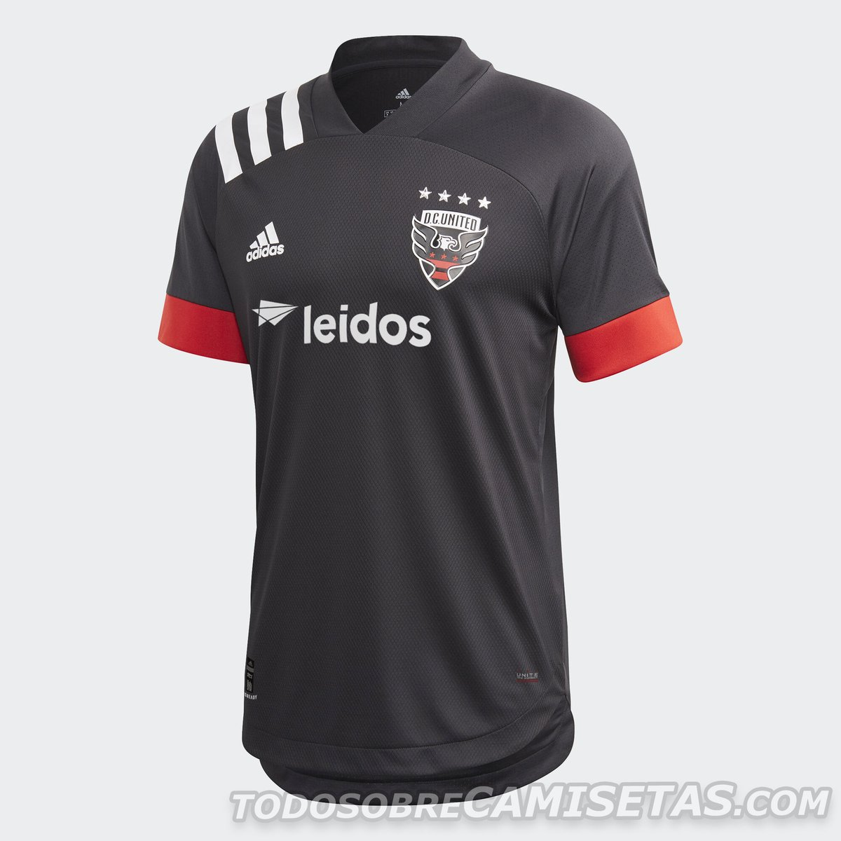 DC United 2020 adidas Home Kit
