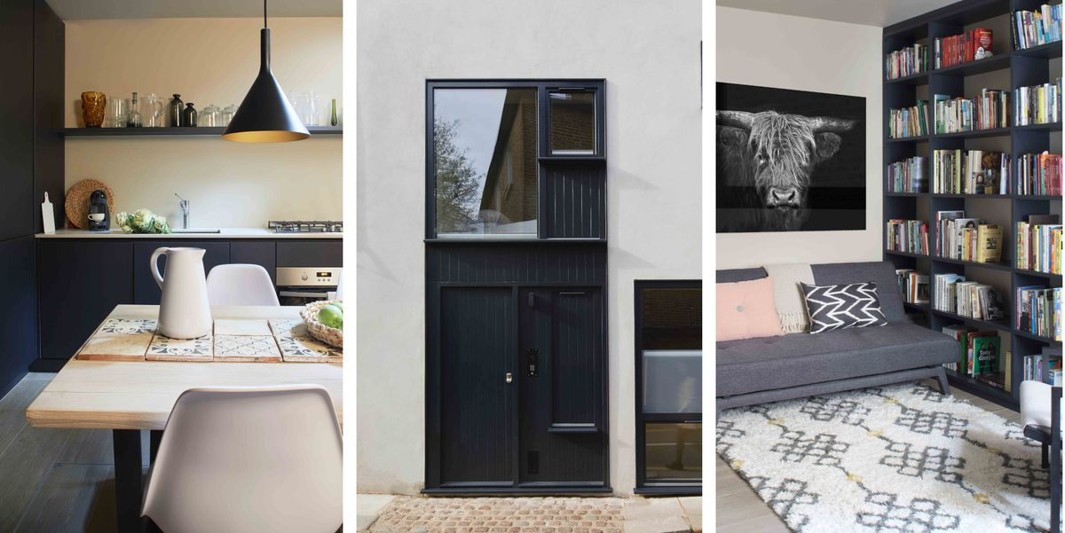 Tiny one-bedroom London mews house makes clever use of small space. Read more    #bedroom #london #house #space #interior #decoration
