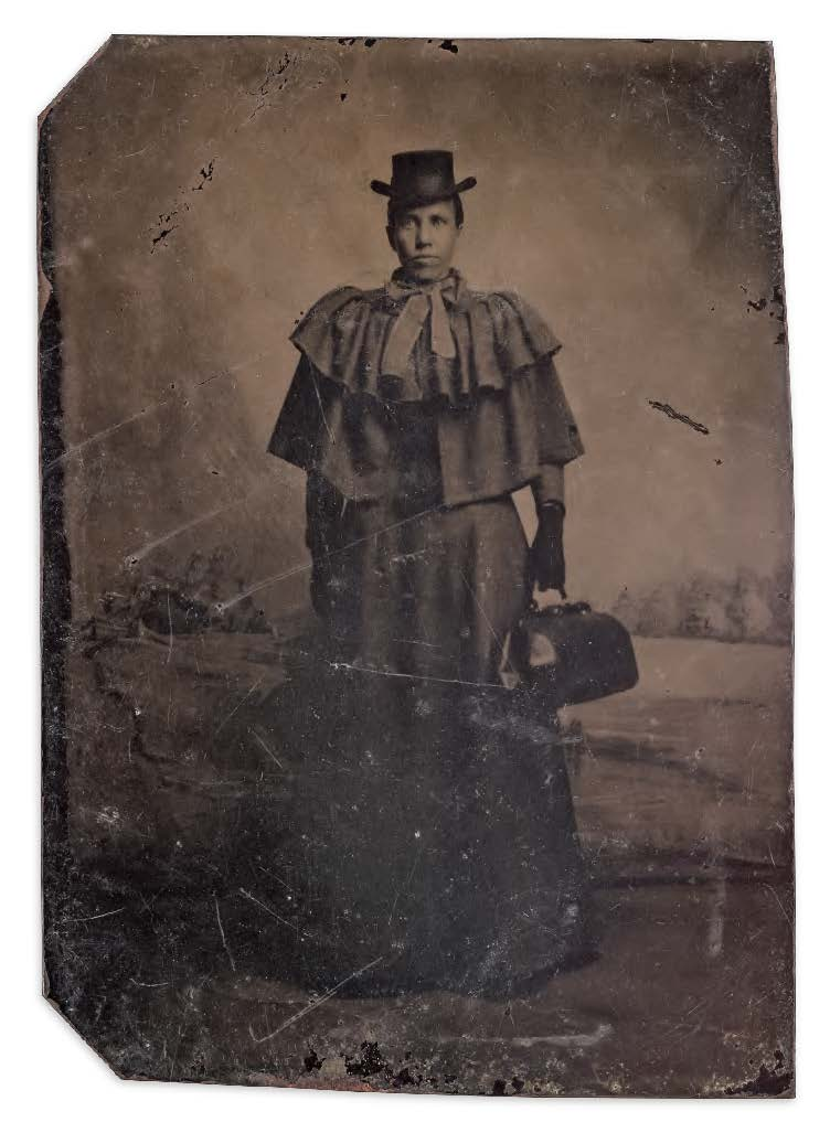 @cooperhewitt @amhistorymuseum Researchers at our @NMAAHC think this woman may be Sarah Loguen Fraser. She was one of about 115 African American women doctors in the U.S. in the 1890s—though African American midwives assisted in most births in the South before the 20th century.