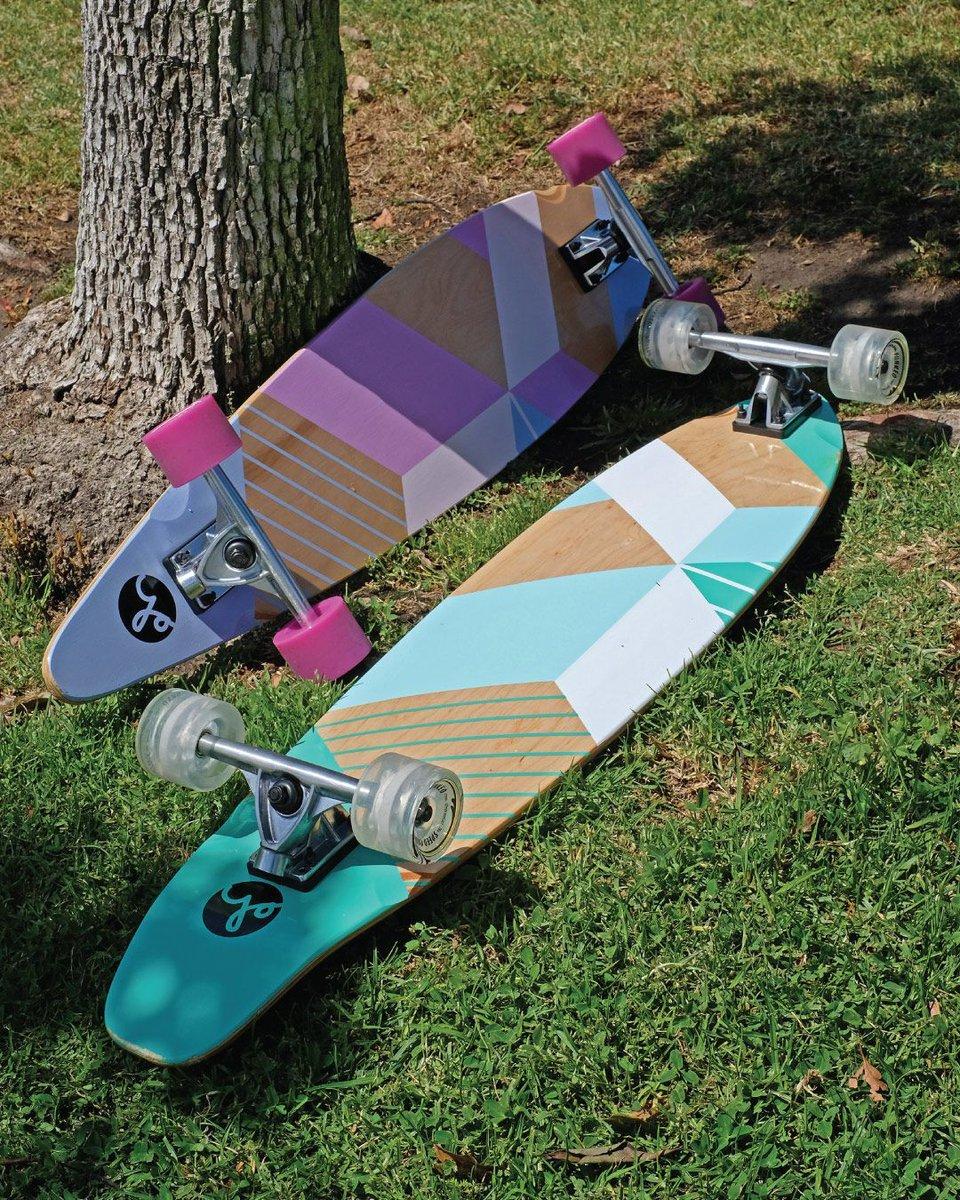 Geometric Duo  ...  #yocaher #longboards #longboarding #longboarddesign #geometric #retrostyle #skateboards #skateboarding #longboardingisfun  #skatepark #skatelife #sk8  #skateshop #skateamericapic.twitter.com/2HNyNzJxDI