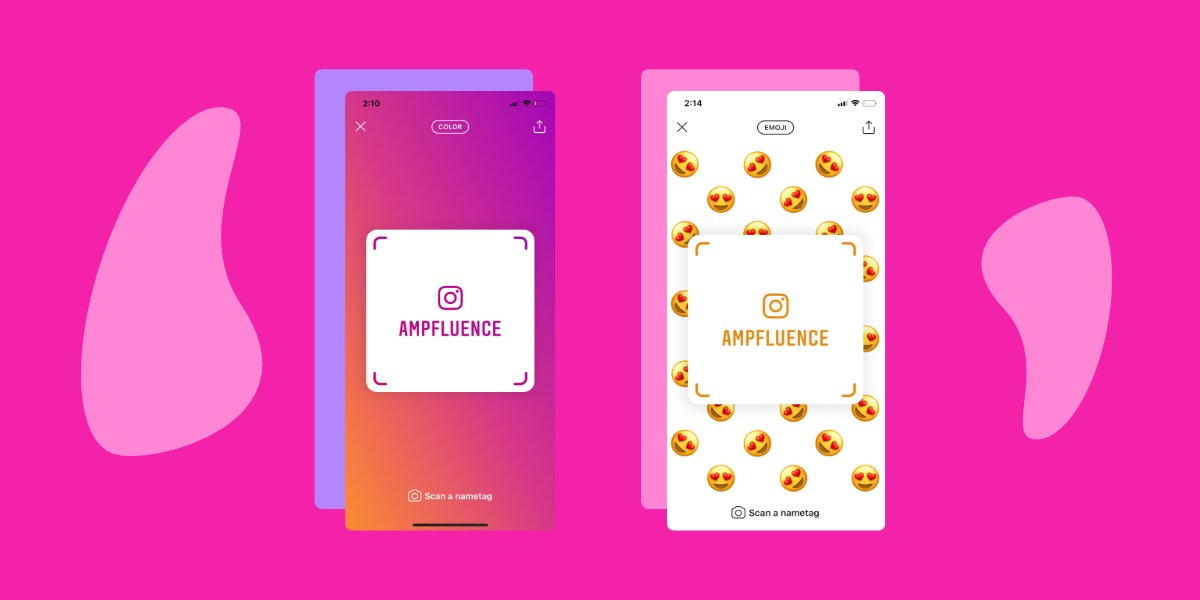 #Instagram nametags are available for all users.   Learn everything you need to know about Instagram nametags plus some really cool examples on how to use them via @ampfluence